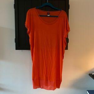 Jean Paul Gaultier orange T-shirt dress